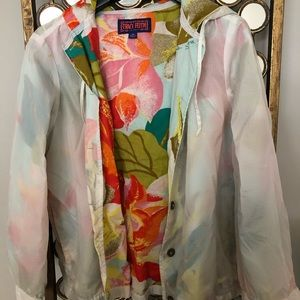 Tracy Feith Jackets & Coats - Tracy Feith tropical jacket